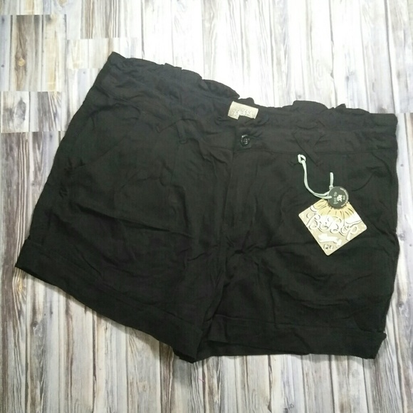 Bebop Shorts Black Ruffle Top Plus Size Dress Poshmark